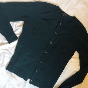 Forest Green Limited Cardigan - M